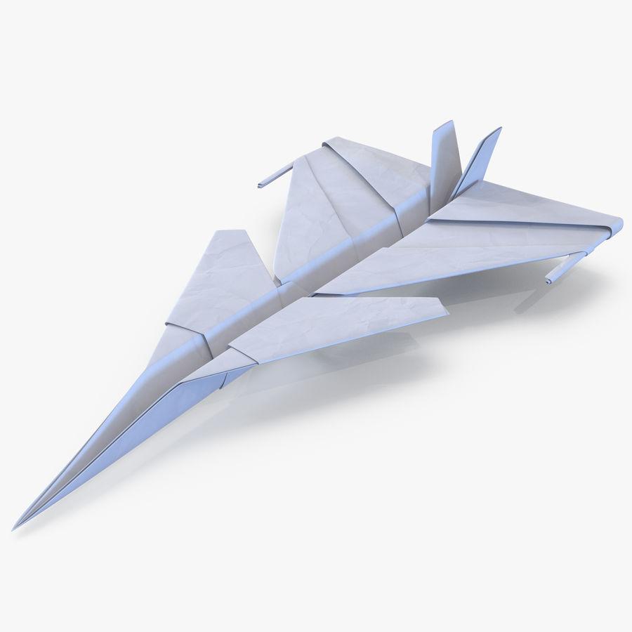 Paper Plane 4 Modèle 3D royalty-free 3d model - Preview no. 1