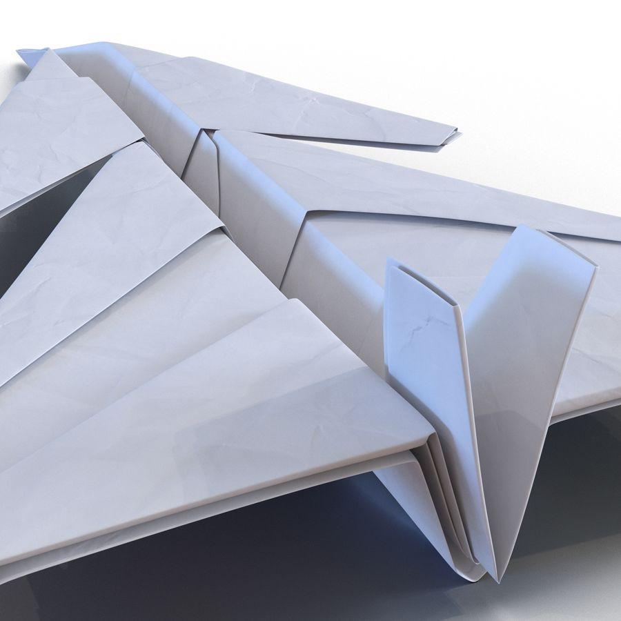 Paper Plane 4 Modèle 3D royalty-free 3d model - Preview no. 12