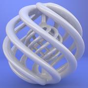 3D gedrucktes Objekt 011 3d model