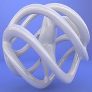3D-tryckt objekt 022 3d model