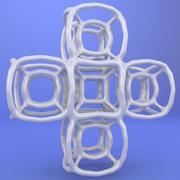3D gedrucktes Objekt 042 3d model