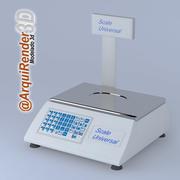 스케일 디지털 3d model