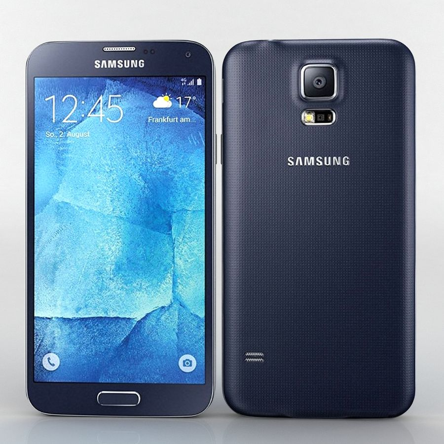 Samsung Galaxy S5 Neo royalty-free 3d model - Preview no. 1