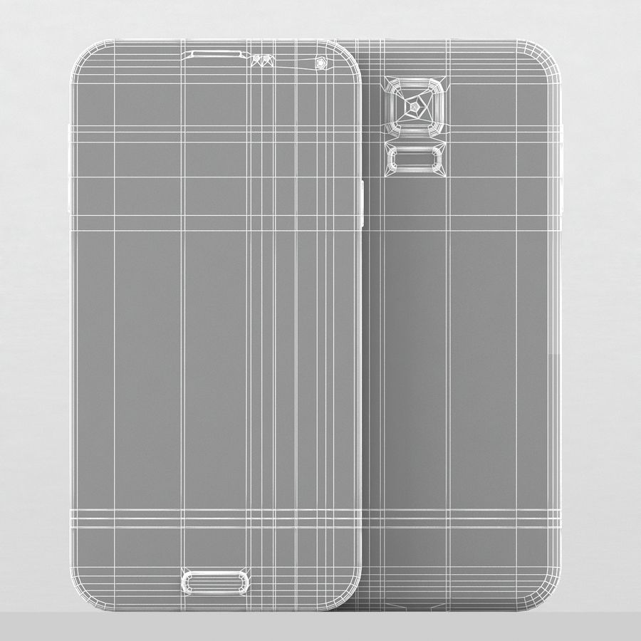 Samsung Galaxy S5 Neo royalty-free 3d model - Preview no. 11