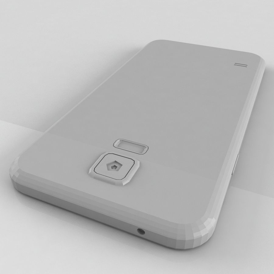 Samsung Galaxy S5 Neo royalty-free 3d model - Preview no. 7