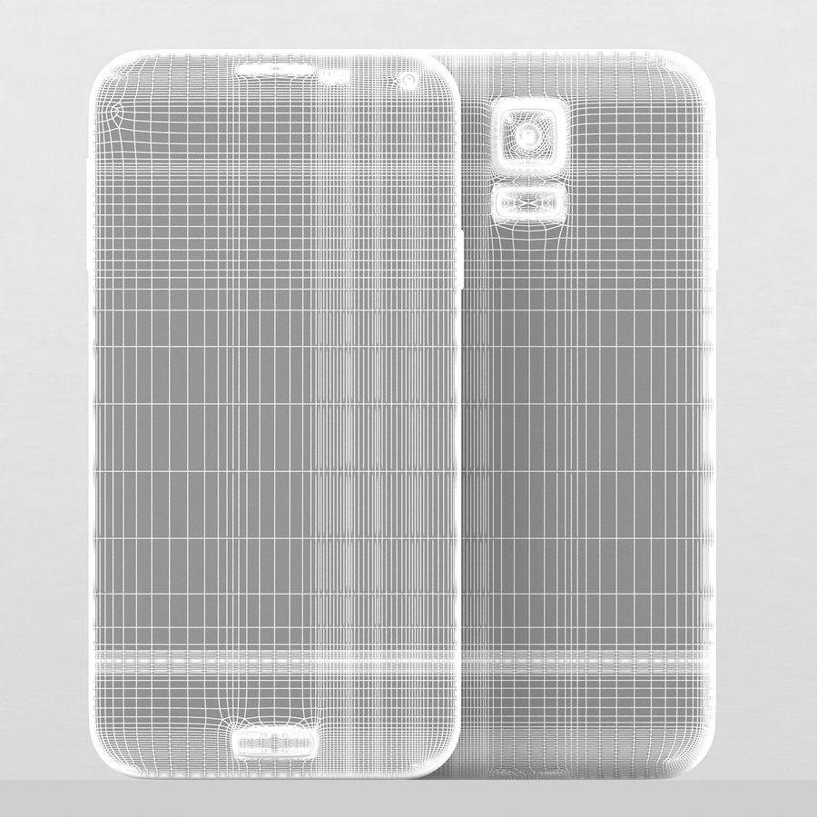 Samsung Galaxy S5 Neo royalty-free 3d model - Preview no. 12