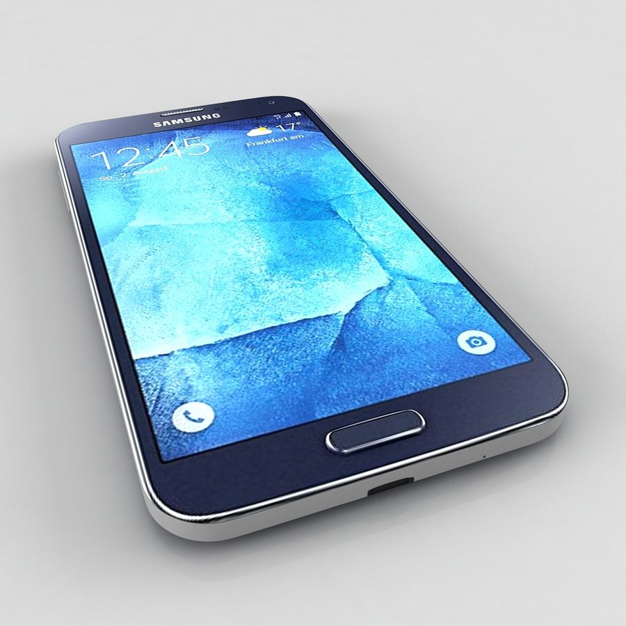 Samsung Galaxy S5 Neo royalty-free 3d model - Preview no. 5