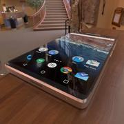 Smartphone genérico modelo 3d