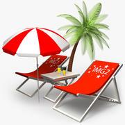 ligstoelen 3d model