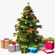 Árbol de navidad x2 modelo 3d