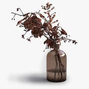 Dekoracyjne jesienne gałązki 3d model