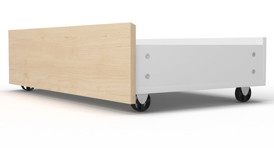 Zestaw szuflad Ikea Malm royalty-free 3d model - Preview no. 110