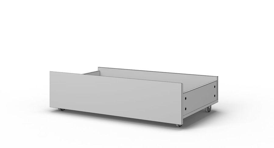Zestaw szuflad Ikea Malm royalty-free 3d model - Preview no. 111