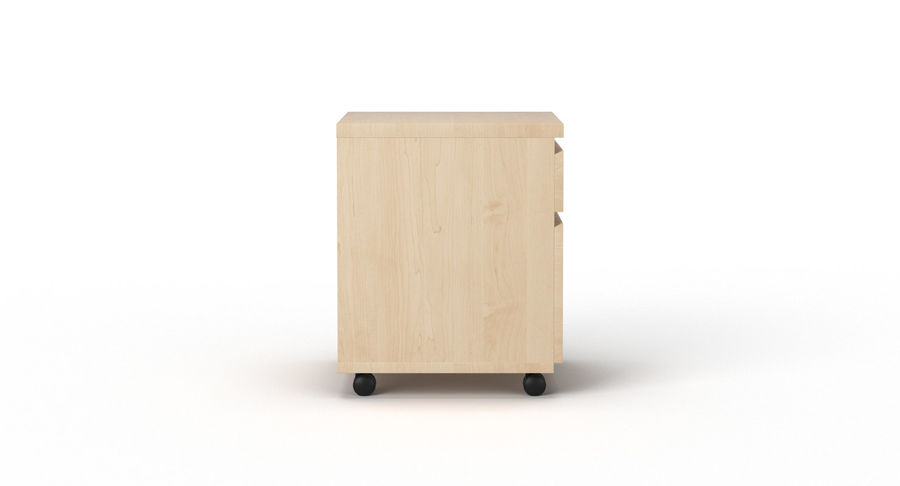 Zestaw szuflad Ikea Malm royalty-free 3d model - Preview no. 94