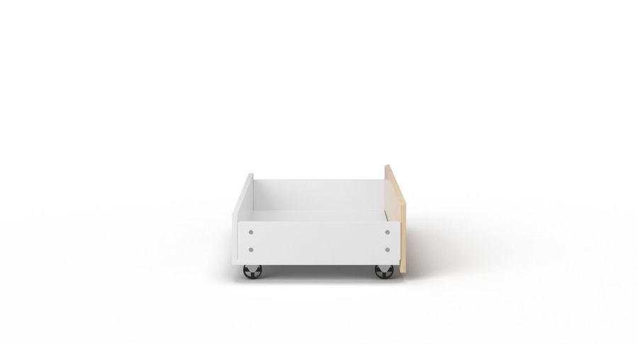 Zestaw szuflad Ikea Malm royalty-free 3d model - Preview no. 108