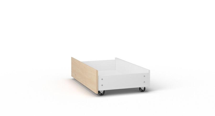 Zestaw szuflad Ikea Malm royalty-free 3d model - Preview no. 109