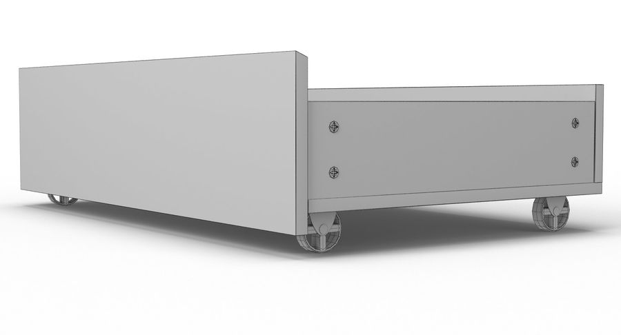 Zestaw szuflad Ikea Malm royalty-free 3d model - Preview no. 112