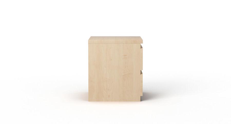 Zestaw szuflad Ikea Malm royalty-free 3d model - Preview no. 82