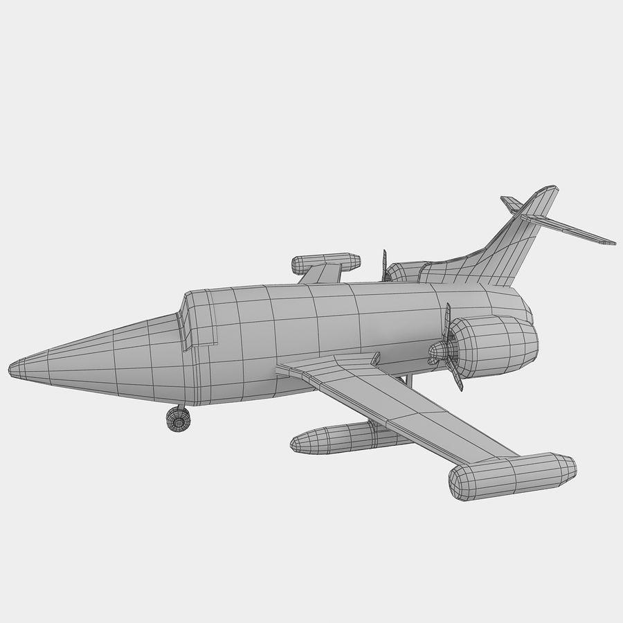 Avião de brinquedo royalty-free 3d model - Preview no. 17