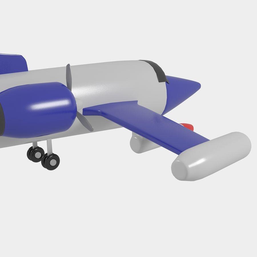 Avião de brinquedo royalty-free 3d model - Preview no. 11