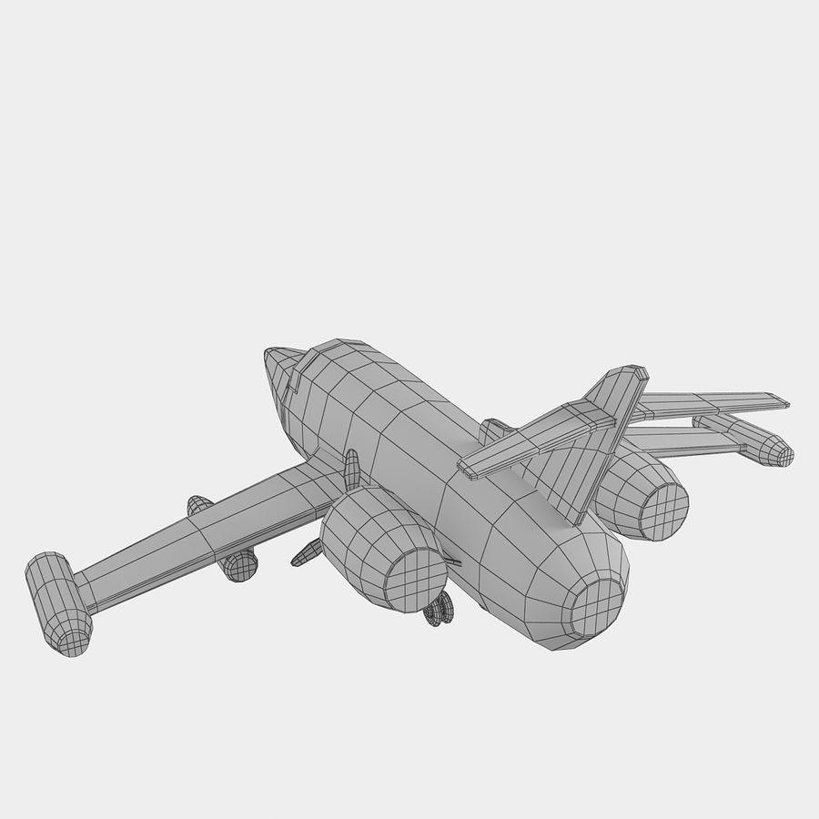 Avião de brinquedo royalty-free 3d model - Preview no. 18