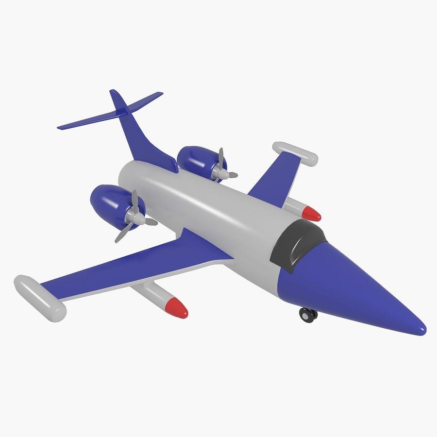 Avião de brinquedo royalty-free 3d model - Preview no. 1