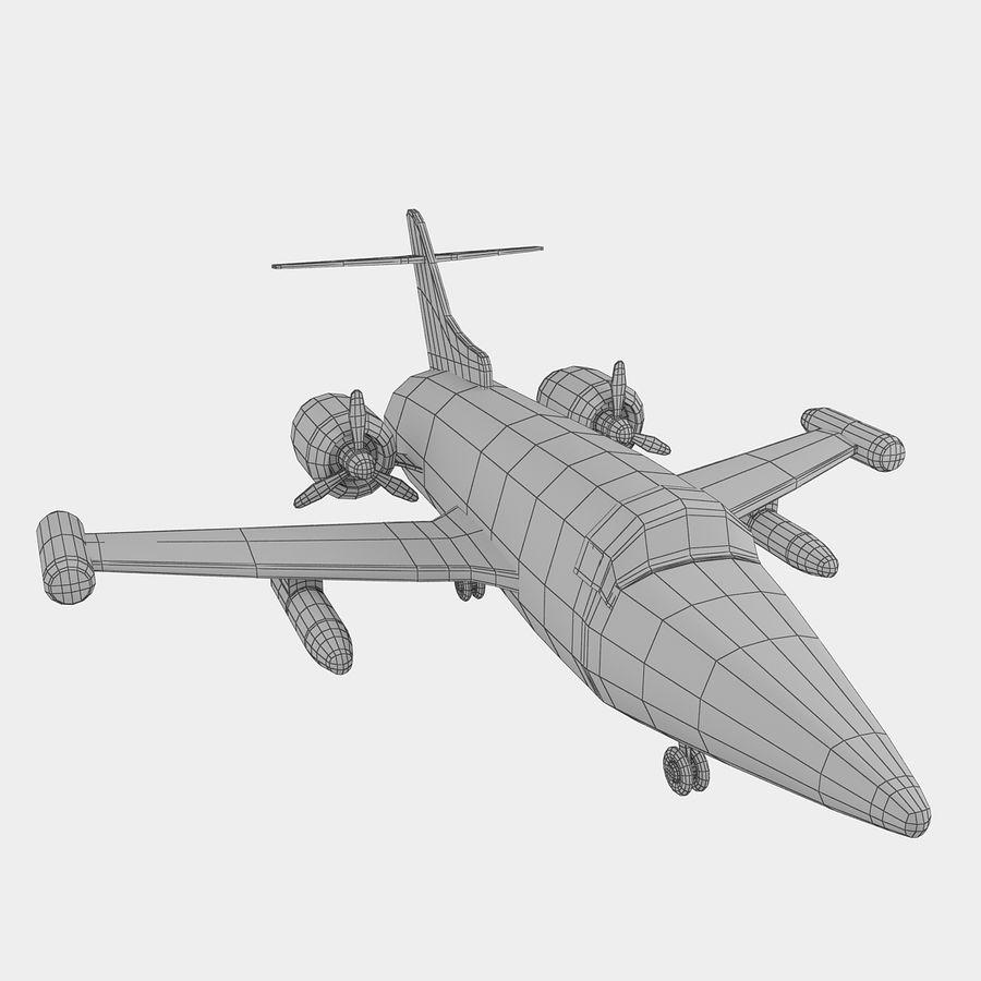 Avião de brinquedo royalty-free 3d model - Preview no. 15