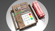 бомба и С4 3d model
