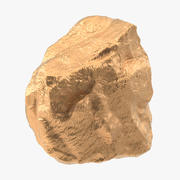 Gold Nugget 02 3d model