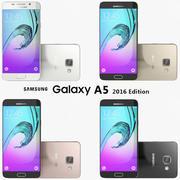 Coleção Samsung Galaxy A5 2016 3d model