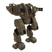 Oyuna hazır mech Renegat 3d model