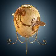 Order of St George (Faberge egg) 3d model