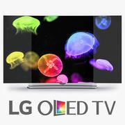 """LG Curved OLED 4K Smart TV 65"""" Class 65EG9600 65EG960V 3d model"""