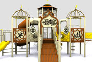 Parco giochi arabo islamico 3d model