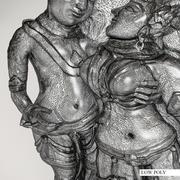 3D models of Indian bas-reliefs | Rf_003 3d model