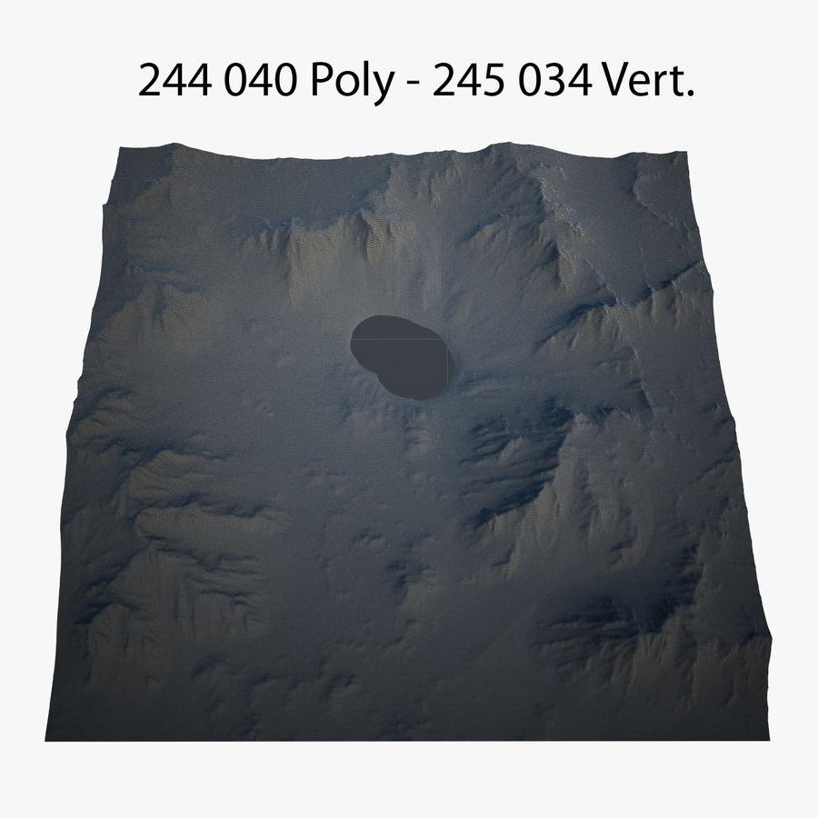 Berglandschaft royalty-free 3d model - Preview no. 27