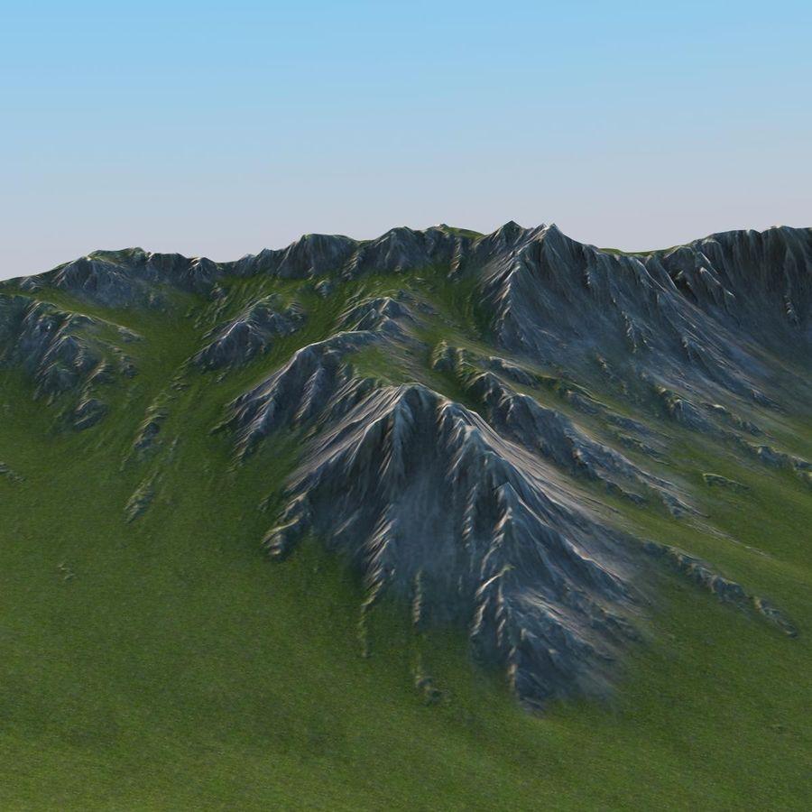 Mountain Landscape royalty-free 3d model - Preview no. 10