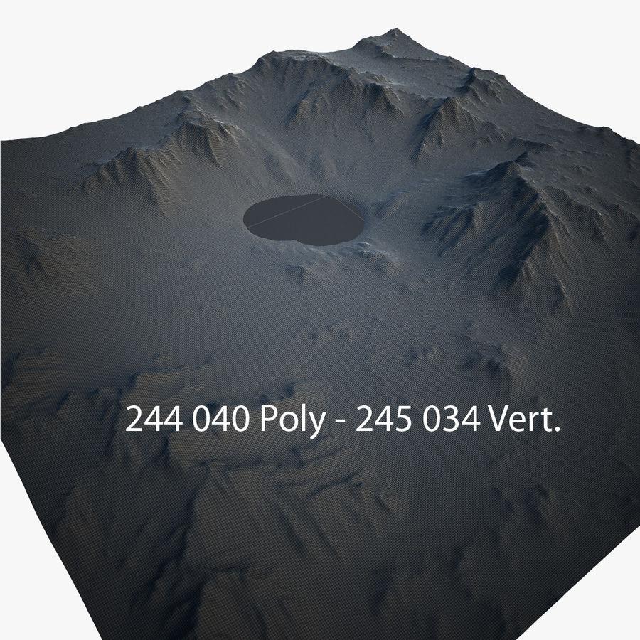 Mountain Landscape royalty-free 3d model - Preview no. 29