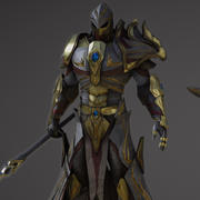 騎士(1) 3d model