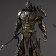 Knight (1) 3d model