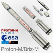 Proton M 3d model