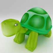 Young Turtle tortoise 3d model