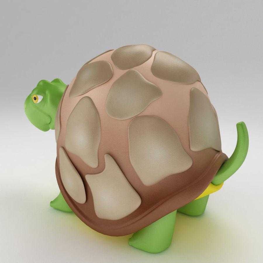 Kaplumbağa eski kaplumbağa royalty-free 3d model - Preview no. 3