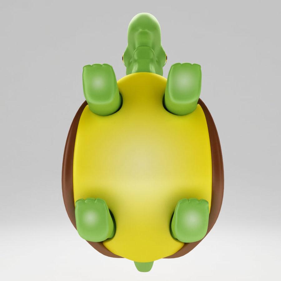 Kaplumbağa eski kaplumbağa royalty-free 3d model - Preview no. 5