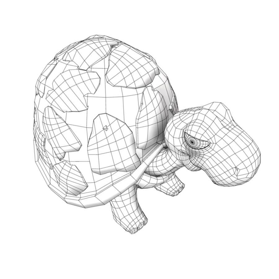 Kaplumbağa eski kaplumbağa royalty-free 3d model - Preview no. 6