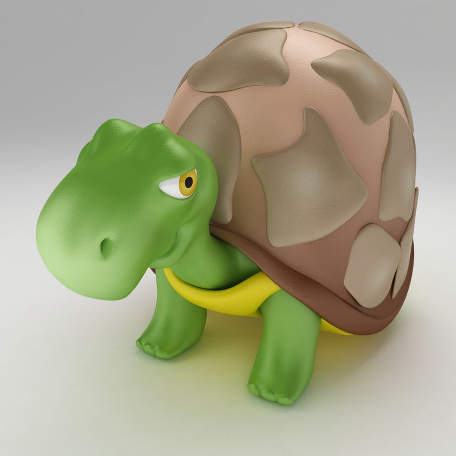 Turtle Tortoise old royalty-free 3d model - Preview no. 1