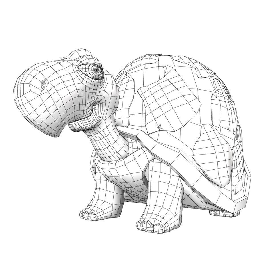 Kaplumbağa eski kaplumbağa royalty-free 3d model - Preview no. 7