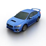 Subaru WRX STi 2015 3d model