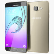Samsung Galaxy A5 2016 Dourado 3d model