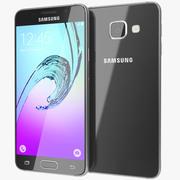 Samsung Galaxy A3 2016 Black 3d model